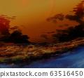 日落,天空,风景 63516450