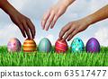 Easter Egg Hunt Hands 63517477