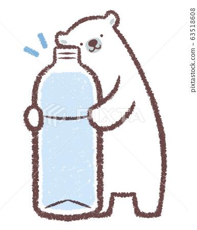 北極熊大號PET瓶 63518608