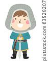 Kid Boy Squire Illustration 63529207