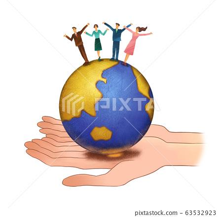 Global Business Team Success 63532923