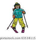 滑雪/童裝(女孩) 63538115