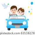 婚禮,婚宴,新娘車 63538278