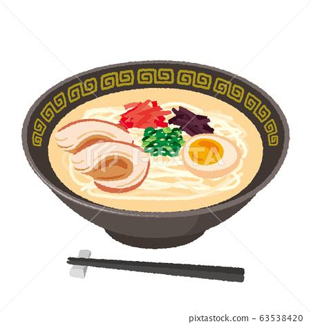 豬骨拉麵的插圖 63538420