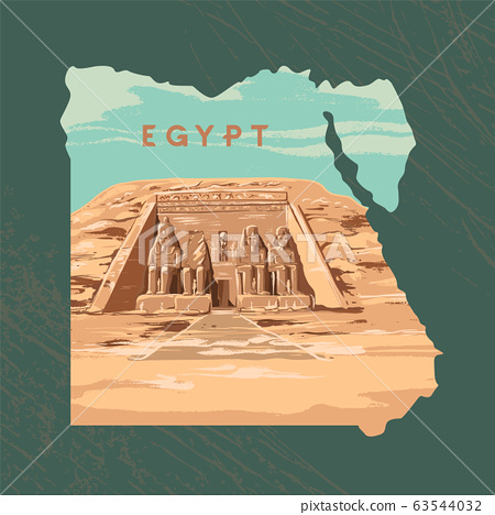 The Great Temple at Abu Simbel, Egypt.  63544032