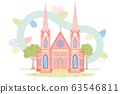 Old Catholic Church Gothic Architecture Building 63546811