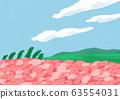 粉紅色的花場景觀圖 63554031