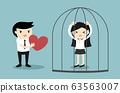 Business concept, Businessman forces business 63563007