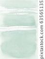 Gentle pastel blue-green watercolor background 63565135