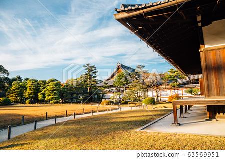 Nijo castle in Kyoto, Japan 63569951