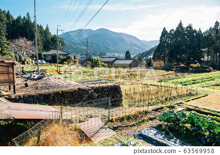Ohara countryside village in Kyoto, Japan 63569958