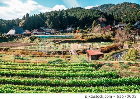 Ohara countryside village in Kyoto, Japan 63570005