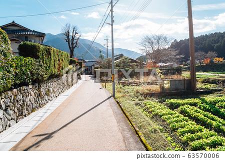 Ohara countryside village in Kyoto, Japan 63570006