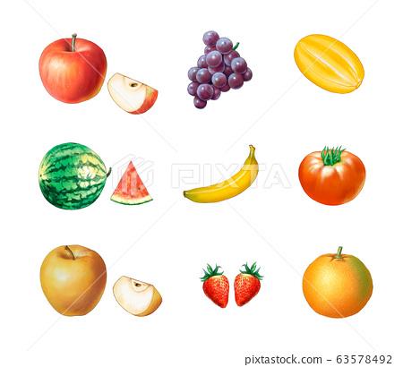 9種水果 63578492