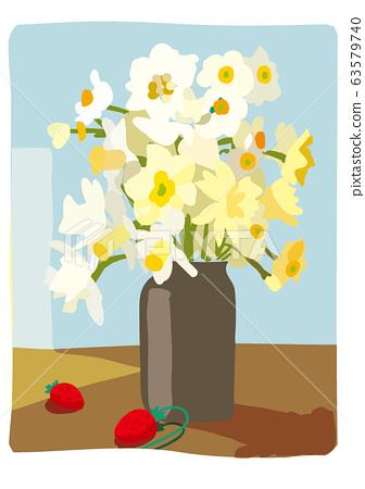 小蒼蘭和陽光的插圖 63579740