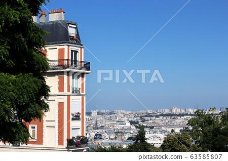 몽마르뜨르,파리,프랑스 63585807