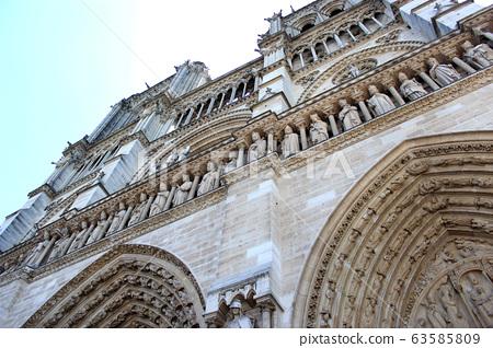 노틀담,파리,프랑스 63585809
