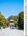 Tsuruoka Hachimangu Shrine scenery Maiden and tower (Kamakura City, Kanagawa Prefecture) As of March 2020 63586176
