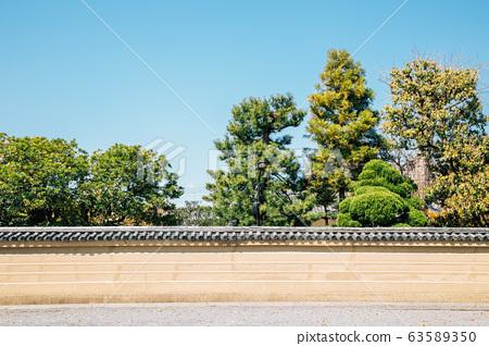 Toji temple traditional garden in Kyoto, Japan 63589350