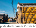 Ise Futami old town street in Mie Prefecture, Japan 63589637