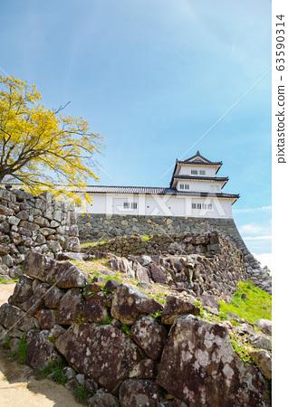 Hikone castle in Shiga, Japan 63590314