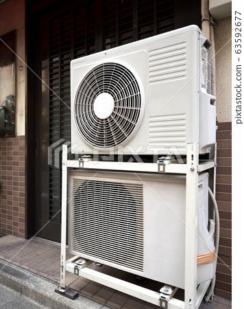 Outdoor unit of air conditioner 63592677