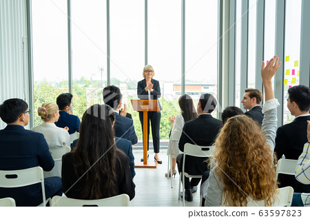 Business people meeting in conference room,Business and Entrepreneurship event. 63597823