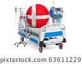 Danish Healthcare, ICU in Denmark. 3D rendering 63611229