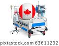 Canadian Healthcare, ICU in Canada. 3D rendering 63611232