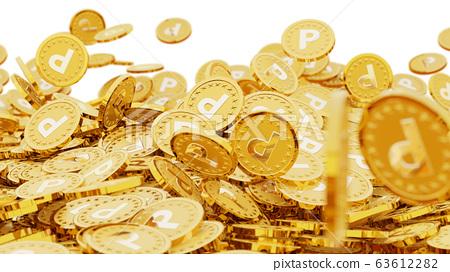 很多金幣上刻有字母P(起始點) 63612282