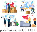 International Business, Many Workers and Offices 63614448