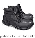 black winter men boots 63616987