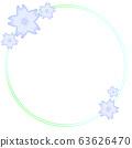 樱花背景(蓝色) 63626470