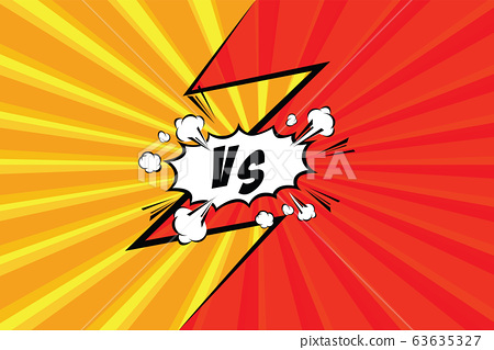 Fight backgrounds comics style design. Vector illustration 63635327