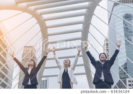 Teamwork Together Concept. Group of diversity 63636184