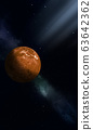 Space illustration of Venus 63642362