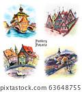 Watercolor sketch of Bamberg 63648755