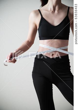 여성 다이어트 바디 부품 메이저 피트니스 스포츠 운동 63656483