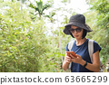 using cellphone when hiking 63665299