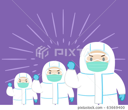 Concept of epidemic prevention.Vector flat 63669400