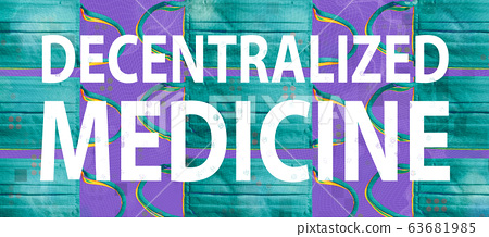 Decentralized Medicine theme with surgical medical face masks 63681985