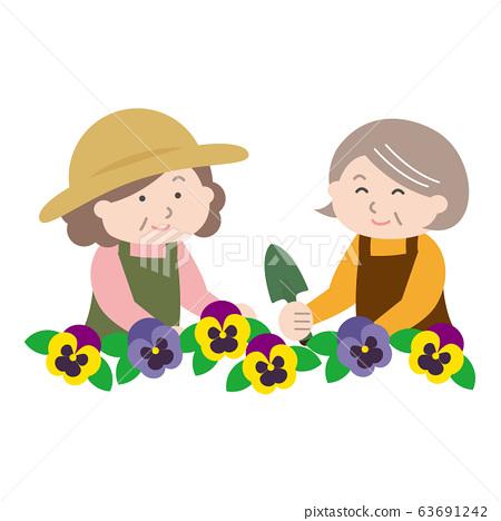 種花的高級女人 63691242