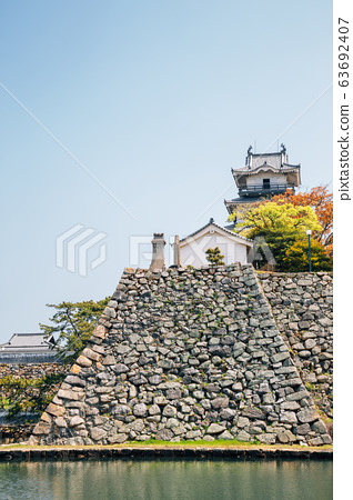 Imabari Castle in Ehime, Shikoku, Japan 63692407