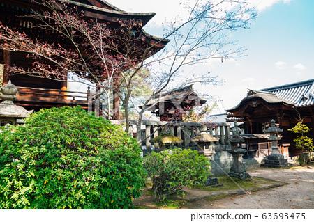 Kurashiki Achi Shrine in Okayama, Japan 63693475