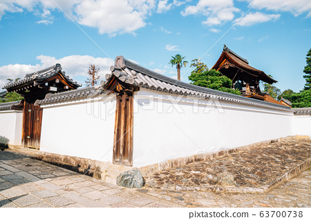 Myoshinji Temple, historic architecture in Kyoto, Japan 63700738