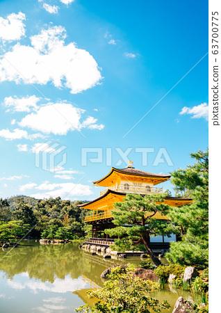 Kinkaku-ji temple, Golden pavilion in Kyoto Japan 63700775