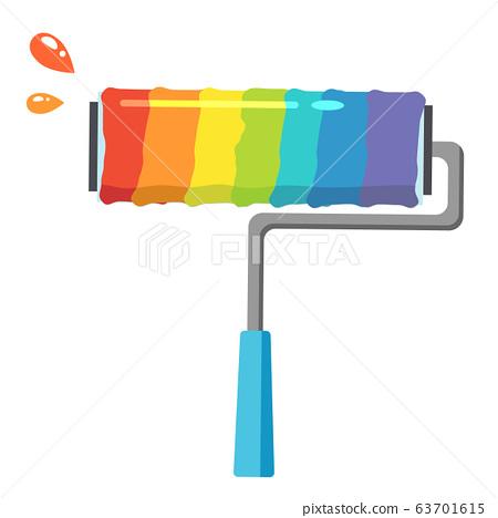 페인트 63701615