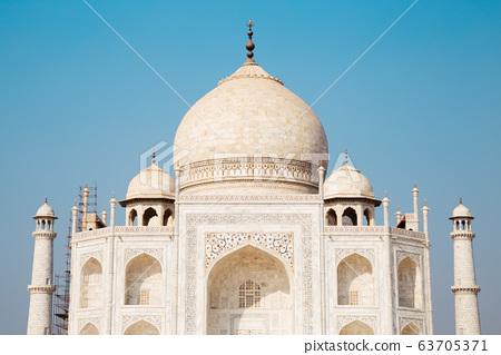 Taj Mahal in Agra, India 63705371