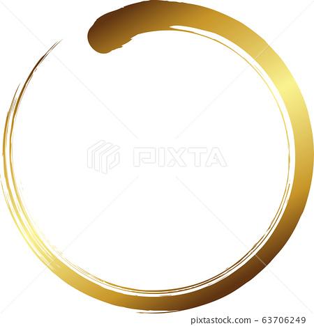 圓圈金刷字符 63706249