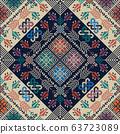 Palestinian embroidery pattern 303 63723089